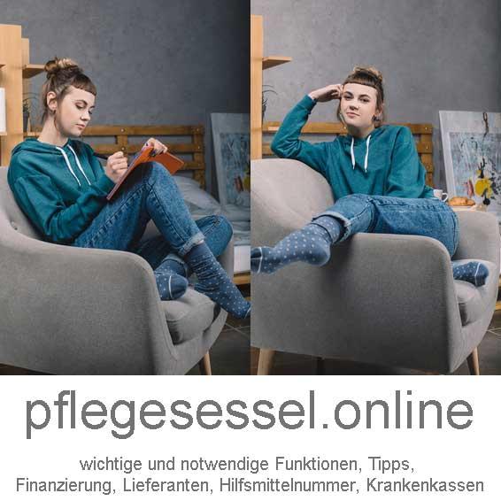 Pflegesessel: Tipps zur Finanzierung, neue und gebrauchte Reha-Sessel / Pflegesessel